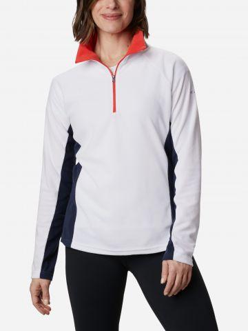 חולצת מיקרופליז Glacial 4 Half Zip של COLUMBIA