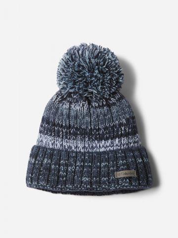 כובע גרב עם פונפון Winter Blur Beanie II של COLUMBIA