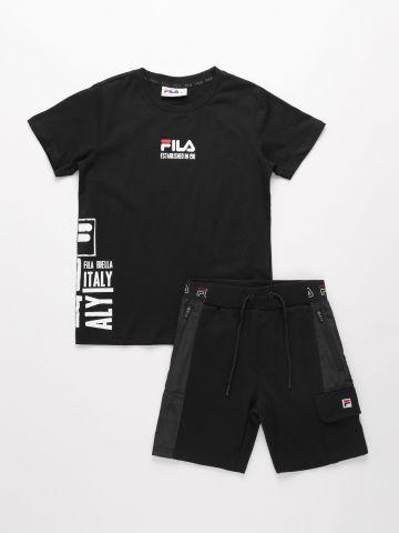 סט חולצה ומכנסיים / בנים של FILA