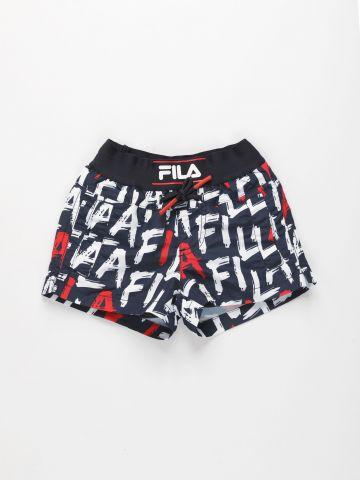 מכנסי בגד ים בהדפס לוגו / בנים של FILA
