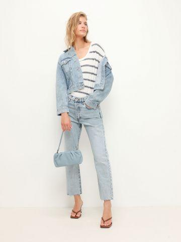 ג'קט ג'ינס עם כיסים / נשים של GAP