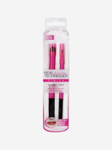 סט מברשות שפתיים Lip Color+Blur של REAL TECHNIQUES
