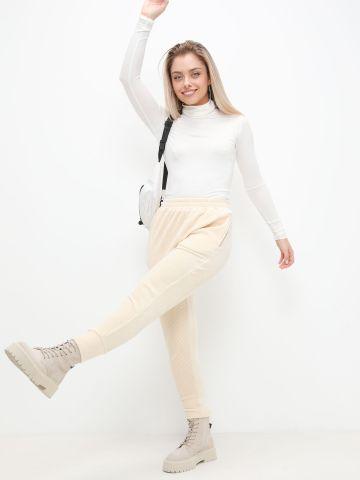 מכנסי קורדורוי ארוכים של TERMINAL X
