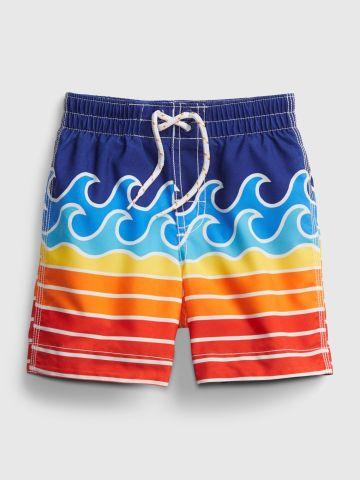 מכנסי בגד ים בהדפס / 12M-5Y של GAP