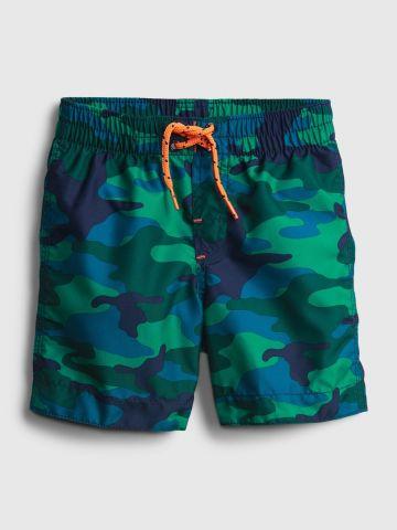 מכנסי בגד ים בהדפס קמפולאז' / 12M-5Y של GAP