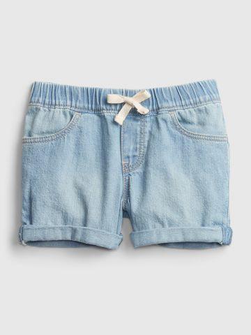 מכנסי ג'ינס קצרים עם קיפול / 12M-5Y של GAP