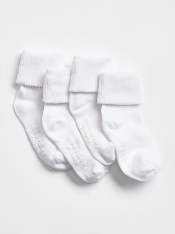 מארז 4 זוגות גרביים / 12M-5Y של GAP