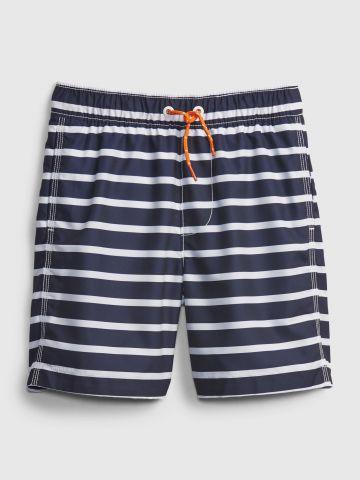 מכנסי בגד ים בהדפס פסים / בנים של GAP