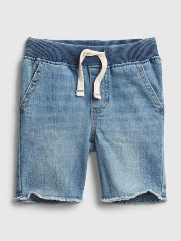 מכנסי ג'ינס קצרים עם סיומת פרנזים / 12M-5Y של GAP