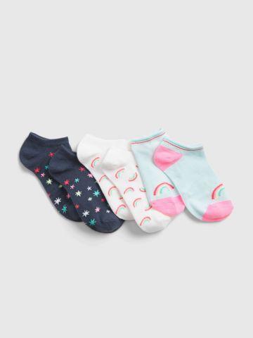 מארז 3 גרביים נמוכות / בנות של GAP