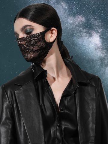 מסיכת פנים תחרה / תחפושות לפורים של TERMINAL X