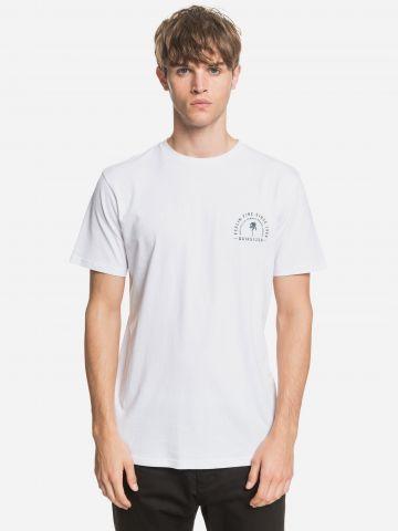 טי שירט עם הדפס לוגו של QUIKSILVER
