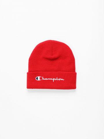 כובע גרב עם רקמת לוגו / נשים של CHAMPION