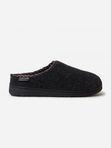 נעלי בית דמוי צמר עם שוליים רקומים / גברים של DEARFOAMS