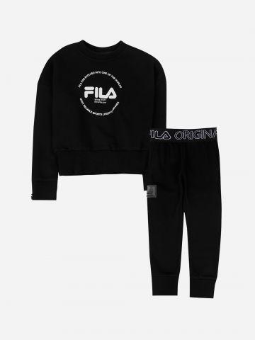 סט פוטר 2 חלקים עם לוגו / בנות של FILA