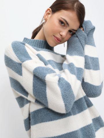 סוודר בדוגמת פסים של YANGA