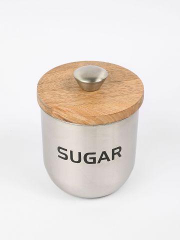 איחסונית מתכת לסוכר של FOX HOME