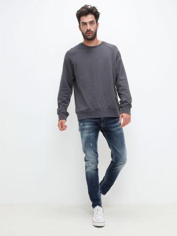 ג'ינס אסיד ווש עם קרעים של PEPE JEANS