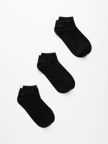 מארז 3 זוגות גרביים / גברים של REPLAY
