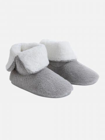 נעלי בית גבוהות דמוי פרווה / נשים של FOX HOME