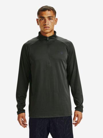 חולצת אימון עם רוכסן חצי UA Tech של UNDER ARMOUR