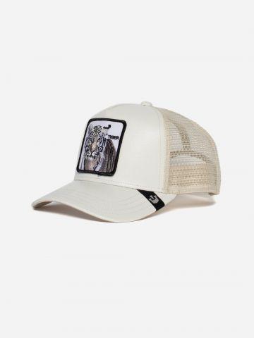 כובע מצחיה עם פאץ' נמר Tiger / גברים של GOORIN BROS