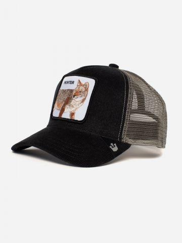 כובע מצחייה עם פאץ' שועל / גברים של GOORIN BROS