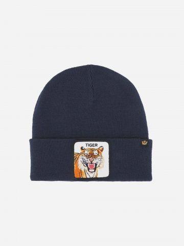 כובע גרב עם פאץ' נמר Tiger / גברים של GOORIN BROS