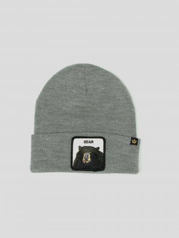 כובע גרב עם פאץ' דב Bear / גברים של GOORIN BROS
