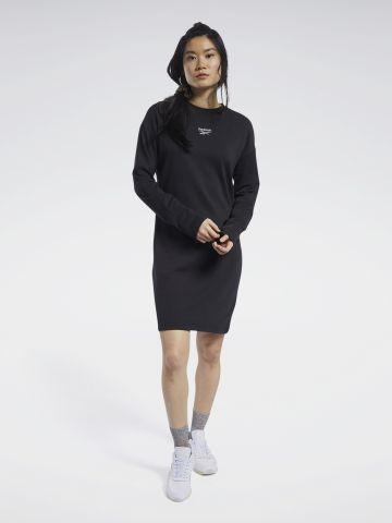 שמלת סווטשירט עם לוגו של REEBOK