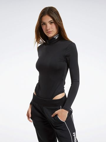 בגד גוף עם צווארון גבוה של REEBOK