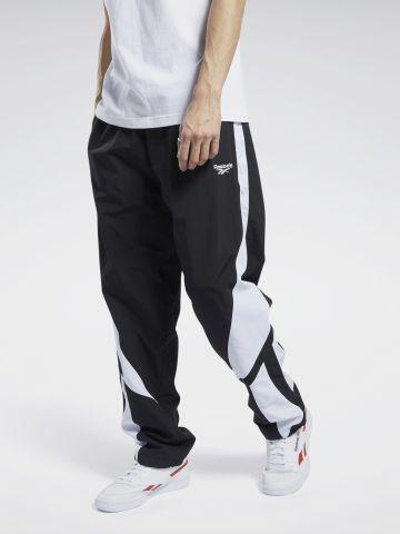 מכנסי ניילון עם לוגו של REEBOK