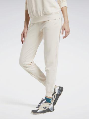 מכנסי טרנינג ווש עם לוגו של REEBOK