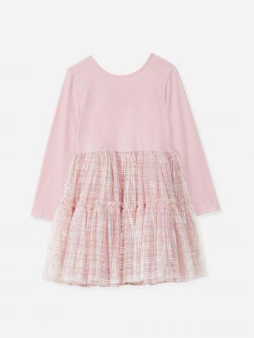 שמלה בשילוב חצאית טול / בנות של FLAMINGO