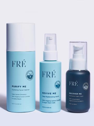 ערכת לילה חיונית לעור הפנים The Recover Set של FRÉ