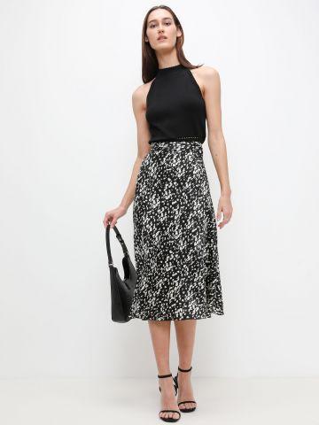 חצאית מידי בהדפס של VERO MODA