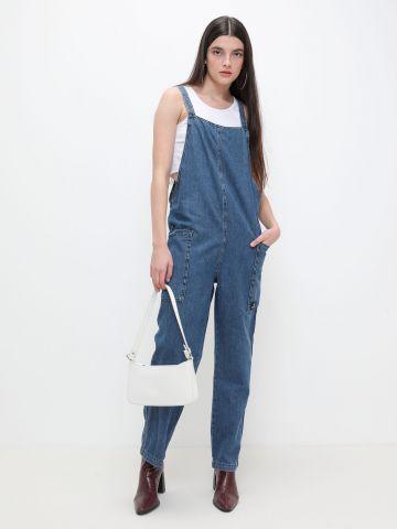 אוברול ג'ינס עם כיסים של URBAN OUTFITTERS