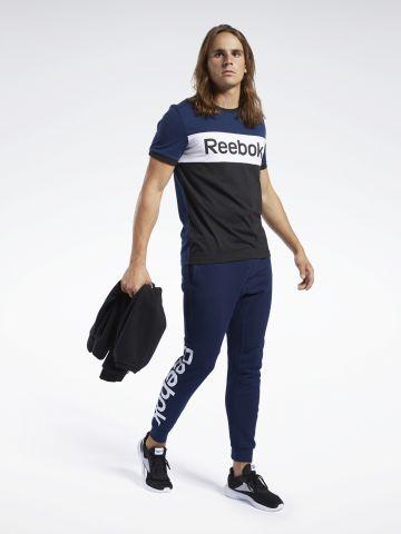 מכנסי טרנינג פרנץ' טרי עם לוגו של REEBOK