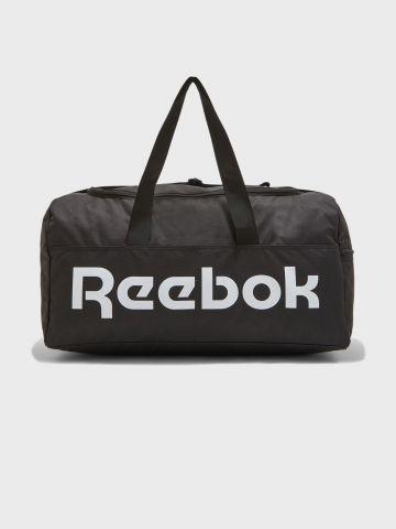תיק אימון גדול עם לוגו של REEBOK