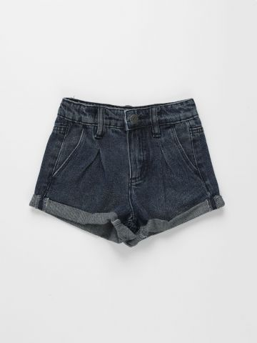 מכנסי ג'ינס קצרים עם קיפול / בנות של FOX