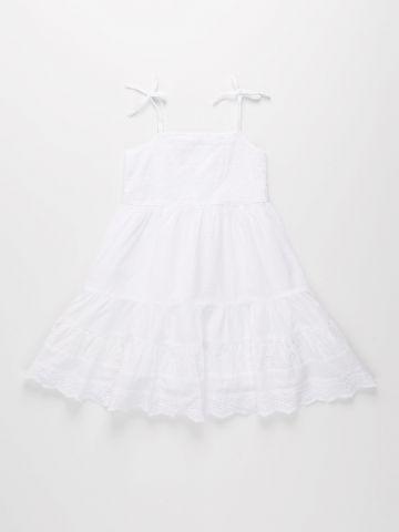 שמלת קומות ברקמת פרחים / בנות של FOX