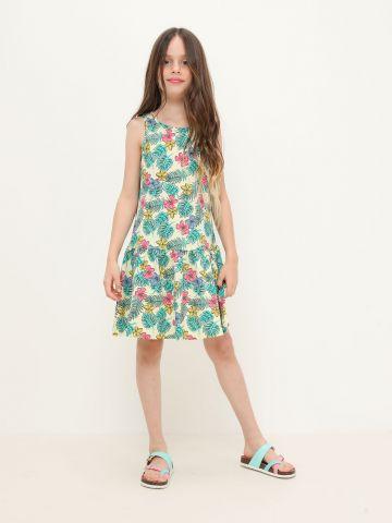 שמלה בהדפס טרופי / 4Y-16Y של FOX