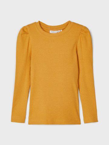 חולצת ריב עם כיווצים / 1Y-5Y של NAME IT