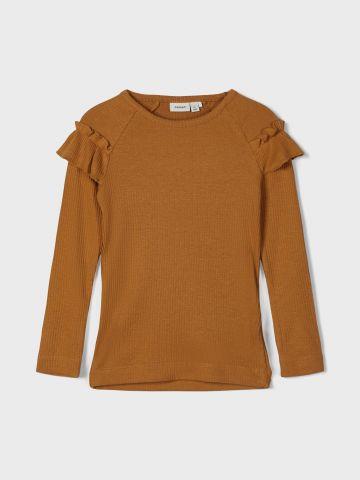 חולצת ריב עם מלמלה / 1Y-5Y של NAME IT