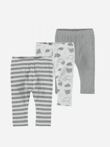 מארז 3 מכנסיים ארוכים / 0-3Y של NAME IT
