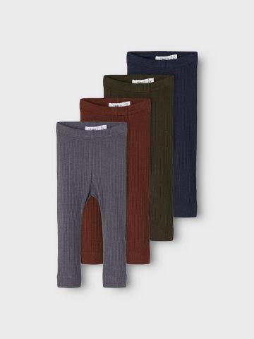 מארז 4 זוגות מכנסיים ארוכים / 1M-1.5Y של NAME IT