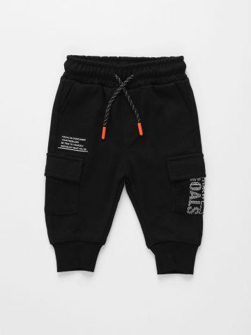מכנסי טרנינג עם כיסים / 3M-3Y של FOX