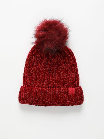 כובע גרב עם פונפון / נשים של CHAMPION