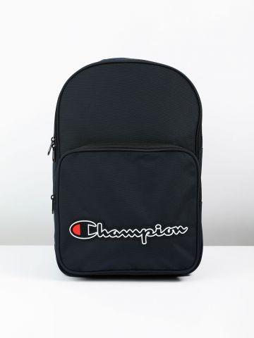 תיק גב מלבני עם פאץ' לוגו / גברים של CHAMPION