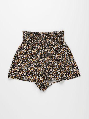 מכנסיים קצרים בהדפס פרחים / בנות של FOX